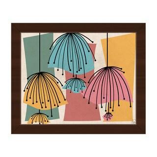 Lazy Lamps Framed Canvas Wall Art Print