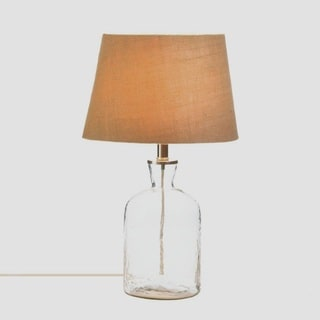 Laurel Vintage-Style Designed Glass Table Lamp