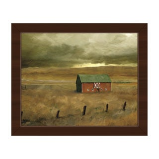 Old Barn Framed Canvas Wall Art Print