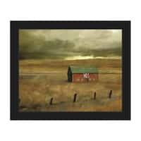 Old Barn Framed Canvas Wall Art Print