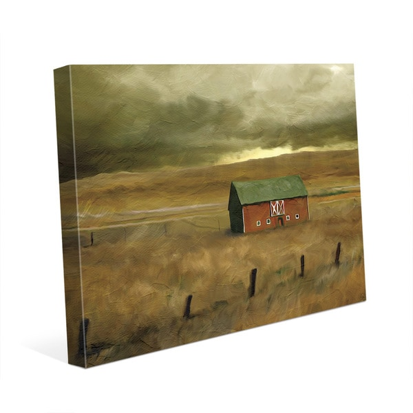 Old Barn Wall Art Print on Canvas