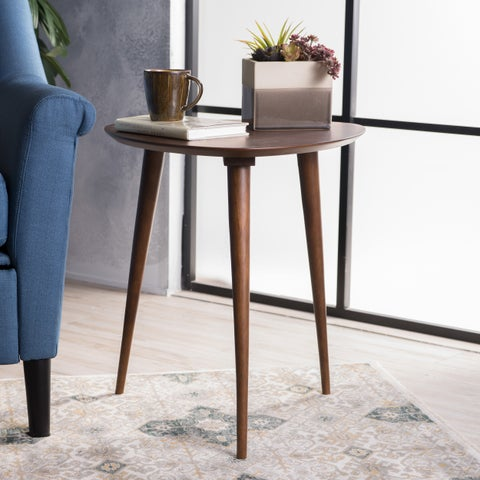 Naja Mid-Century Wood End Table by Christopher Knight Home