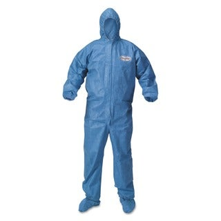 KleenGuard A60 Blood and Chemical Splash Protection Coveralls XXX-Large Blue (Box of 20)