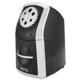 X-ACTO SharpX Performance Electric Pencil Sharpener Black/Silver