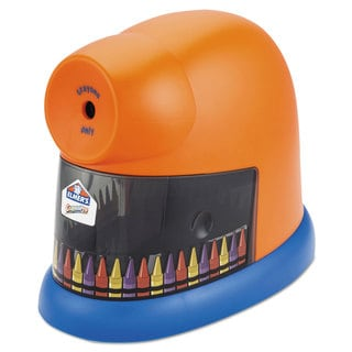 Elmer's CrayonPro Electric Crayon Sharpener with Replacable Blade Orange