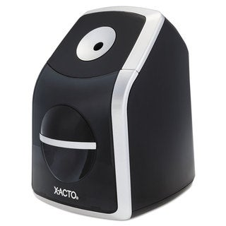 X-ACTO SharpX Classic Electric Pencil Sharpener Black/Silver