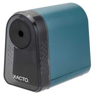X-ACTO Mighty Mite Home Office Electric Pencil Sharpener Mineral Green