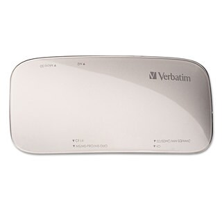 Verbatim Universal Card Reader USB 3.0 Silver Windows/Mac
