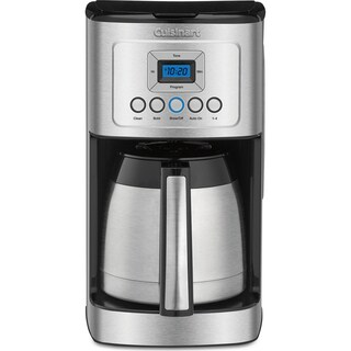 Cuisinart 12-Cup Programmable Thermal Coffeemaker, Black/Stainless