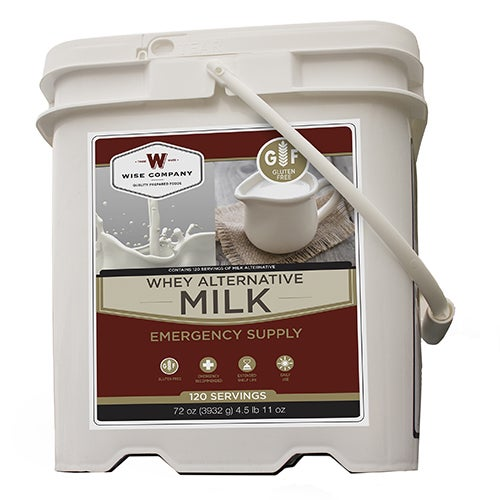 Wise Foods 120 Serving Powdered Whey Milk Bucket