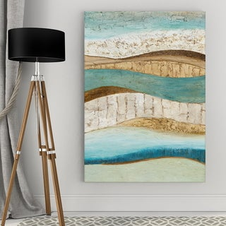 'Earth & Sky II' Gallery Wrapped Canvas