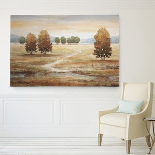 Wexford Home'Linen Landscape I' Canvas Wall Art