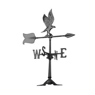 White Hall Black 24-inch Eagle Accent Weathervane