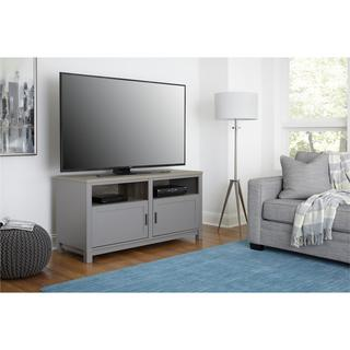 Ameriwood Home Carver Coastal Contemporary Grey 60-inch TV Stand