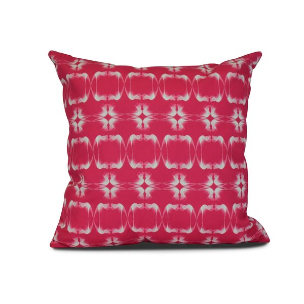 Summer Picnic Geometric Print Outdoor Pillow