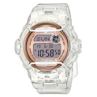 Casio Women's G-Shock BG169G-7B Rubber Clear Ana-Digital Watch