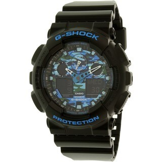 Casio G-Shock Men's GA100CB-1A Rubber Black Ana-Digital Watch