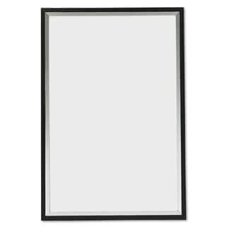DAX Metro Series Poster Frame Plastic 24 x 36 Black/Silver
