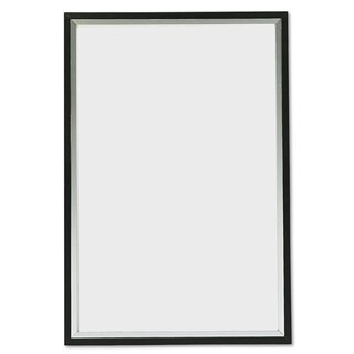 DAX Metro Series Poster Frame Plastic 24 x 36 Black/Silver