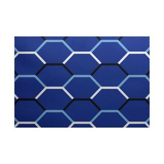 Cool Shades Geometric Print Indoor/Outdoor Rug
