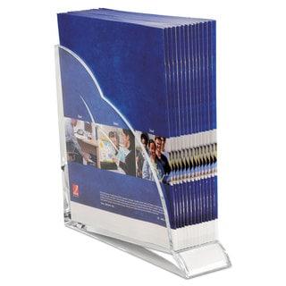 Swingline Stratus Acrylic Magazine Rack 3 1/2 x 10 1/4 x 10 1/2 Clear