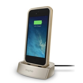 mophie 2308 Gold Juice Pack Dock for iPhone 5/ 5s/ SE