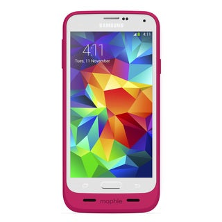 mophie 2334 Pink Juice Pack for Samsung Galaxy S5