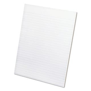 Ampad Glue Top Pads 8 1/2 x 11 White 50 Sheets (Box of 12)
