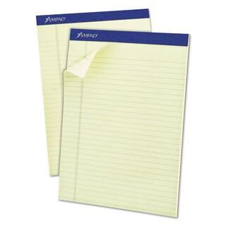 Ampad Pastel Pads 8 1/2 x 11 3/4 Green Tint 50 Sheets (Box of 12)