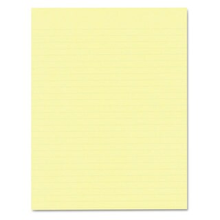Ampad Glue Top Pads 8 1/2 x 11 Canary 50 Sheets (Box of 12)