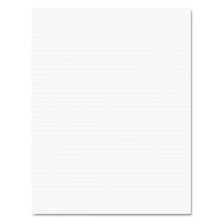 Ampad Glue Top Pads Narrow Rule 8 1/2 x 11 White 50 Sheets (Box of 12)