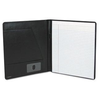 Buxton Executive Leather Padfolio 9-1/2 x 12-1/2 Black