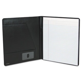 Buxton Executive Leather Padfolio 9-1/2 x 12-1/2 Black