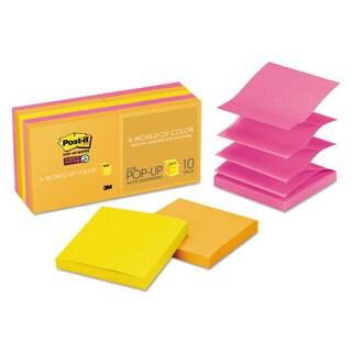 Post-it Pop-up Notes Super Sticky Pop-up 3 x 3 Note Refill Rio de Janeiro 90-Sheet (Box of 10)