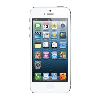 Apple iPhone 5 16GB Unlocked GSM 4G LTE Dual-Core Phone w/ 8MP Camera - White (Refurbished)