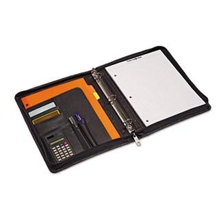 Samsonite Zip Bi-Fold Padfolio 8 1/2 x 11 Black
