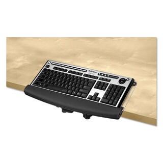 Fellowes I-Spire Series Desktop Edge Keyboard Lift 18 4/9 x 8 3/8 Black/Grey