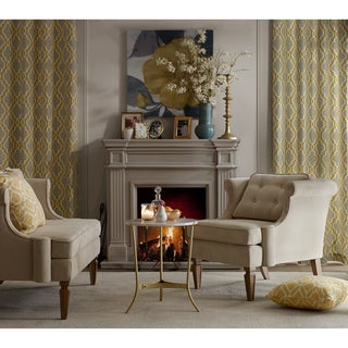 Madison Park Signature Marie Gold Marble 22-inch Console Table