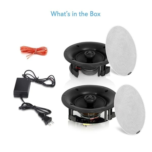 Shop Pyle Pdicbt57 5 25 Inch 240 Watt Dual Bluetooth Ceiling