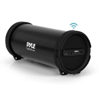 Pyle PBMSPG6 Portable Bluetooth Wireless BoomBox Stereo System with Built-in Rechargeable Battery, MP3/USB/FM Radio