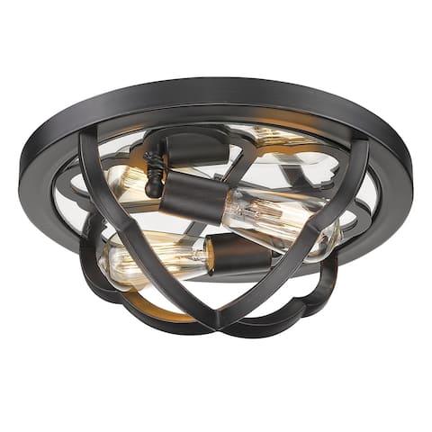 Copper Grove Masis 2-light Flush-mount Light Fixture