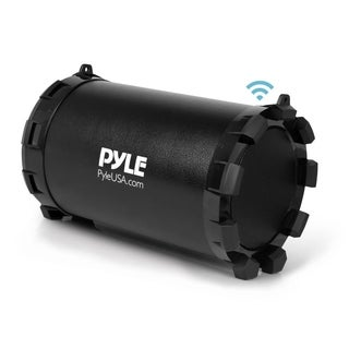 Pyle PBMSPG15 Portable Bluetooth Wireless USB/SD/FM Radio Boombox Stereo System with Built-in Rechargeable Battery