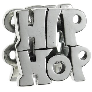 Queenberry Sterling Silver Hip Hop Dance European Bead Charm