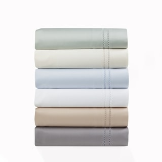600 Thread Count Long Staple Cotton Lace Embroidered Sheet Set