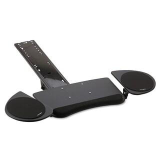 Kensington Adjustable Articulating Underdesk Keyboard Platform 24-1/2-inch wide x 12-1/2-inch deep Black