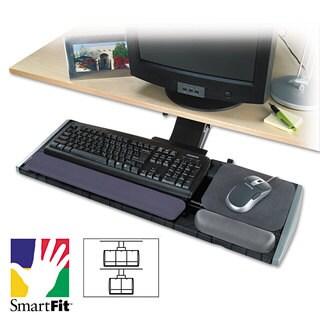 Kensington Adjustable Keyboard Platform with SmartFit System 21-1/4-inch wide x 10d Black