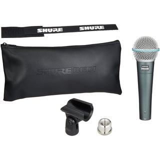 Shure BETA 58A Supercardioid Dynamic Microphone with High Output Element