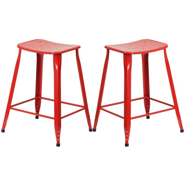 Red Galvanized Metal 24 inch Stool Free Shipping Today  : Red Galvanized Metal 24 inch Stool fbff5fe9 02f5 4db2 b929 f5315788551b600 from www.overstock.com size 600 x 600 jpeg 21kB