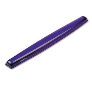 Fellowes Gel Crystals Keyboard Wrist Rest Purple