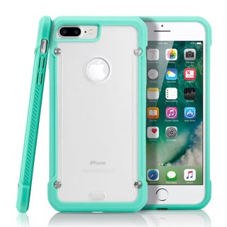 Gearonic Hybrid Rugged Bumper Clear Back Case for Apple iPhone 7 Plus